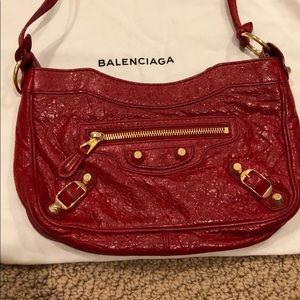 Balenciaga Mini Crossbody Red Bag